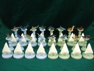 Image result for shark chess set